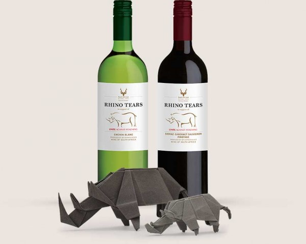 Protecting South African rhinos one bottle of wine at a time photo