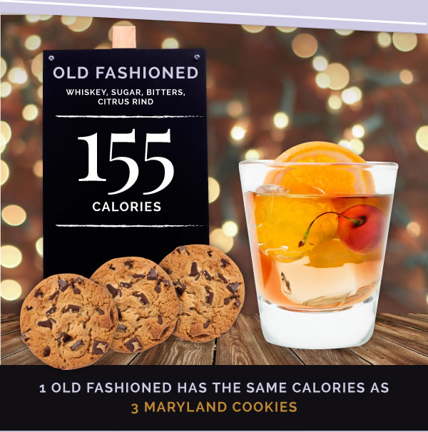 12oldfashioned 15 Classic Cocktails With The Most Calories