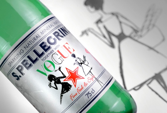 S.Pellegrino sparkling water presents new special limited edition bottle dedicated to Vogue Italia photo