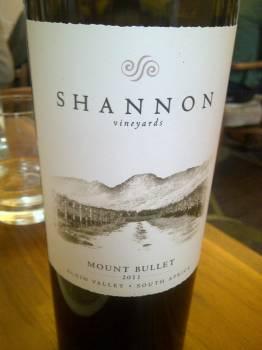 Shannon Vineyards Mount Bullet 2011 Top 10 expensive sips at the 2015 Vinimark tasting