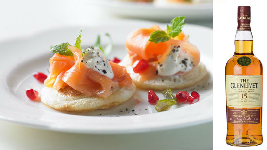 Smoked salmon blinis with mint HERO 81d36a61 ba83 4784 805e 270aeefd2f06 0 472x310 Whisky and food pairings you need to know about