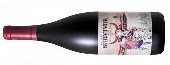 Survivor Merlot Cabernet Sauvignon 2014 e1439887855490 This new wine range by Overhex International is named after a cow