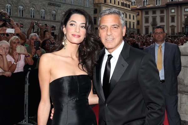 The Clooneys Visit Spain to Launch His Casamigos Tequila photo
