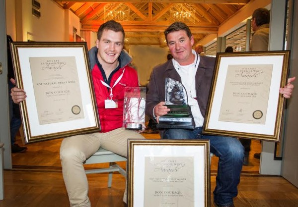 Wine terroirs of Nuy and Bon Courage highly awarded at the 2015 Novare SA Terroir Wine Awards photo