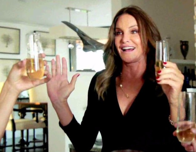 Caitlyn Jenner says she`s a wine and Champagne Gal, now! photo