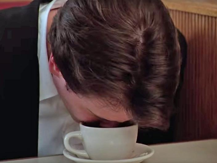 Coffee is Wall Street`s original cocaine photo