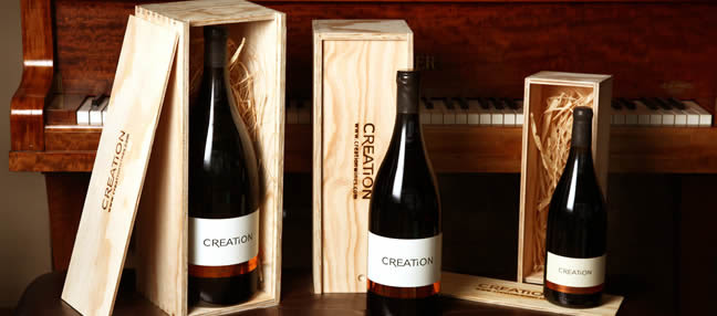 Spoil your colleagues and clients with a bottle of Creation wine photo