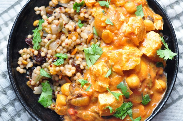 Baked Curried Tomato Chicken photo