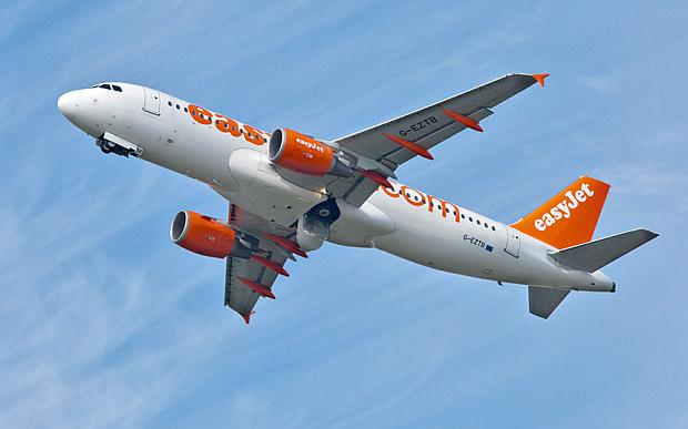 Champagne cork forces easyJet plane to make emergency landing photo