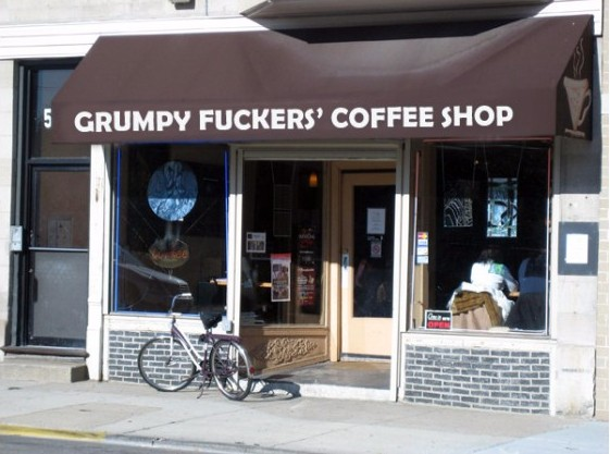 Grumpy Fuckers' Coffee Shop opens for people who hate mornings photo