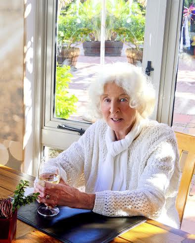 lady wine Sunny Solara makes an organic statement