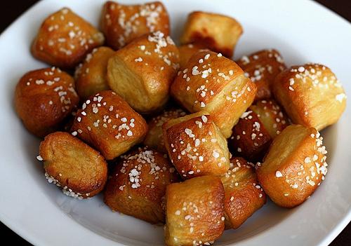 Homemade Soft Pretzel Bites photo