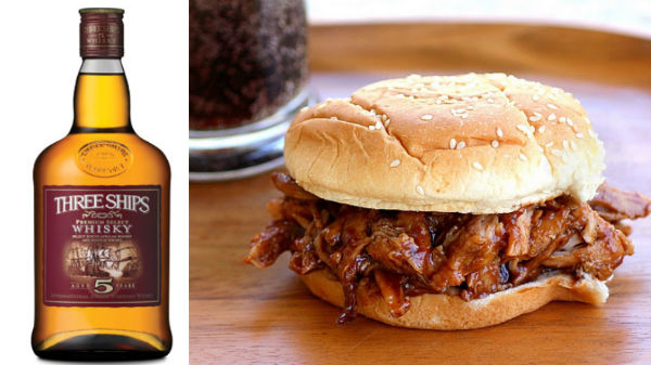 pulled pork sandwich Whisky and food pairings you need to know about