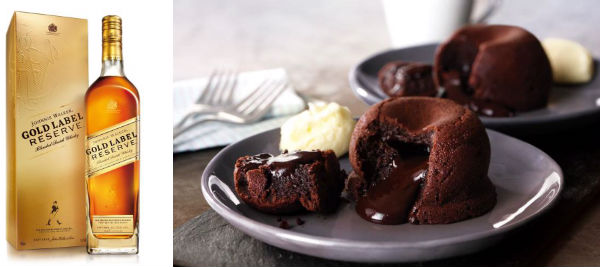 recipe dark chocolate fondants Whisky and food pairings you need to know about