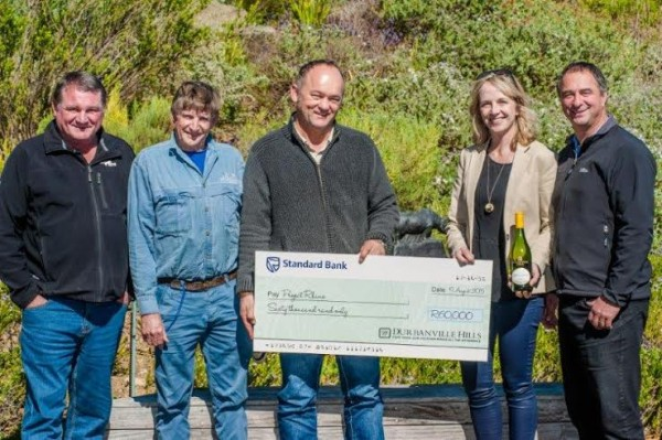 Durbanville Hills funds Rhino Conservation Project photo