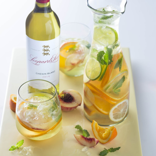 An exciting new wine cocktail: Leopard's Leap Honey-Cup photo