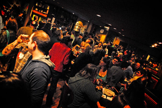 How to Get a Drink at a Crowded Bar photo
