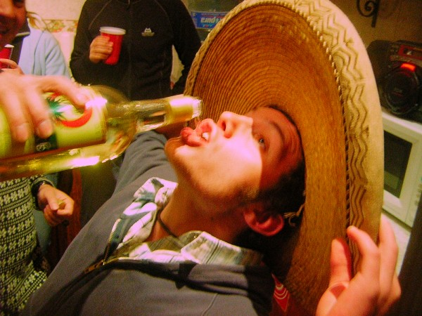 Is being drunk on Tequila a different kind of high than if you had guzzled white wine? photo