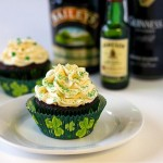 Guinness, Whiskey and Irish Cream Cupcakes photo