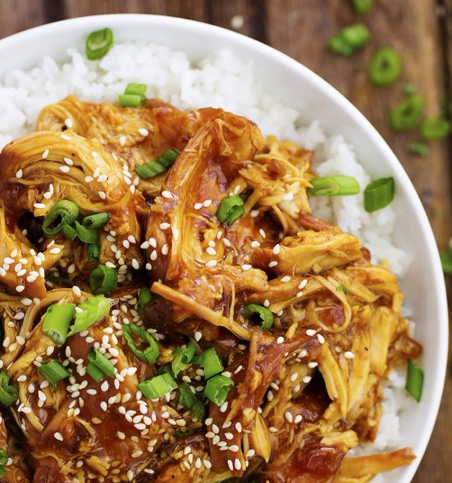Slow Cooker Honey Teriyaki Chicken photo