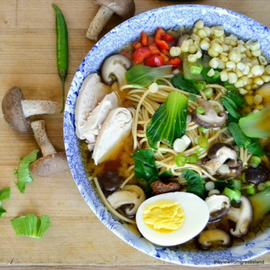 Tuesday inspiration: Chinese Chicken Ramen photo