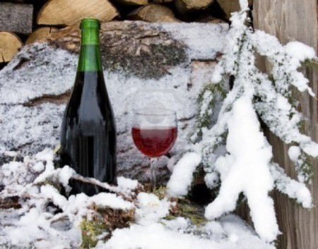 Snow the secret ingredient for making wine in Finland photo