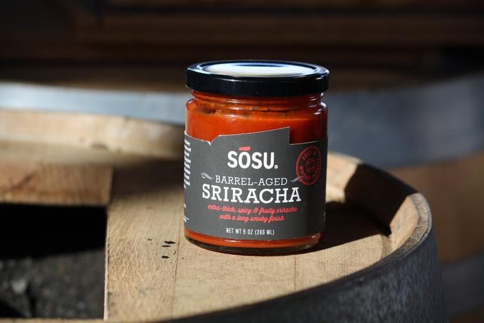 Whiskey Barrel-Aged Sriracha photo