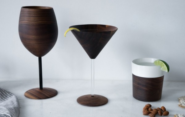 Forget Glass. Wooden Barware Keeps Your Drinks Cooler photo