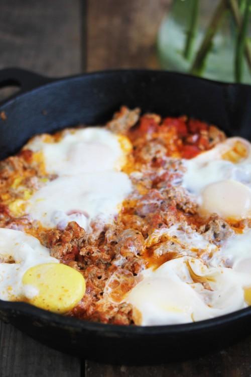 3 Ingredient Breakfast Skillet photo