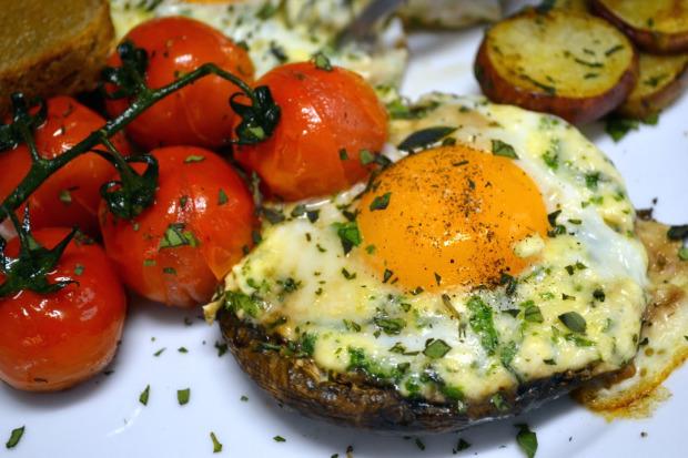 A healthier hangover breakfast