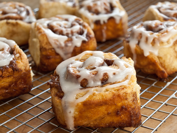 Bourbon Spiced Cinnamon Rolls photo