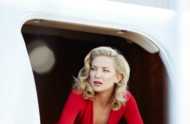 Behind the scenes of Kate Hudson's Campari shoot photo