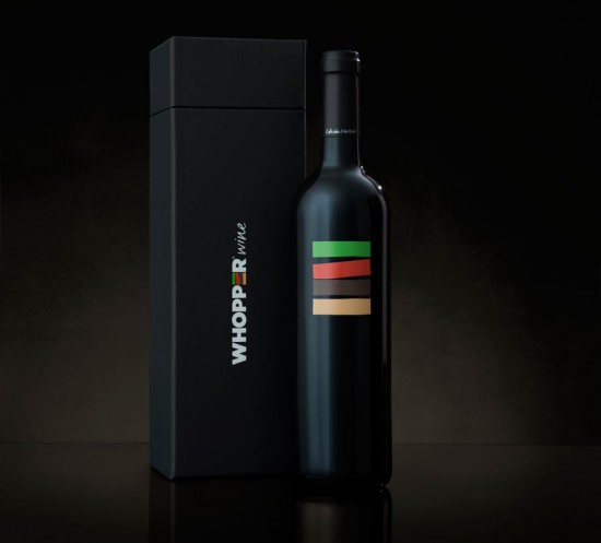 Burger King Whopper Wine Exists! photo