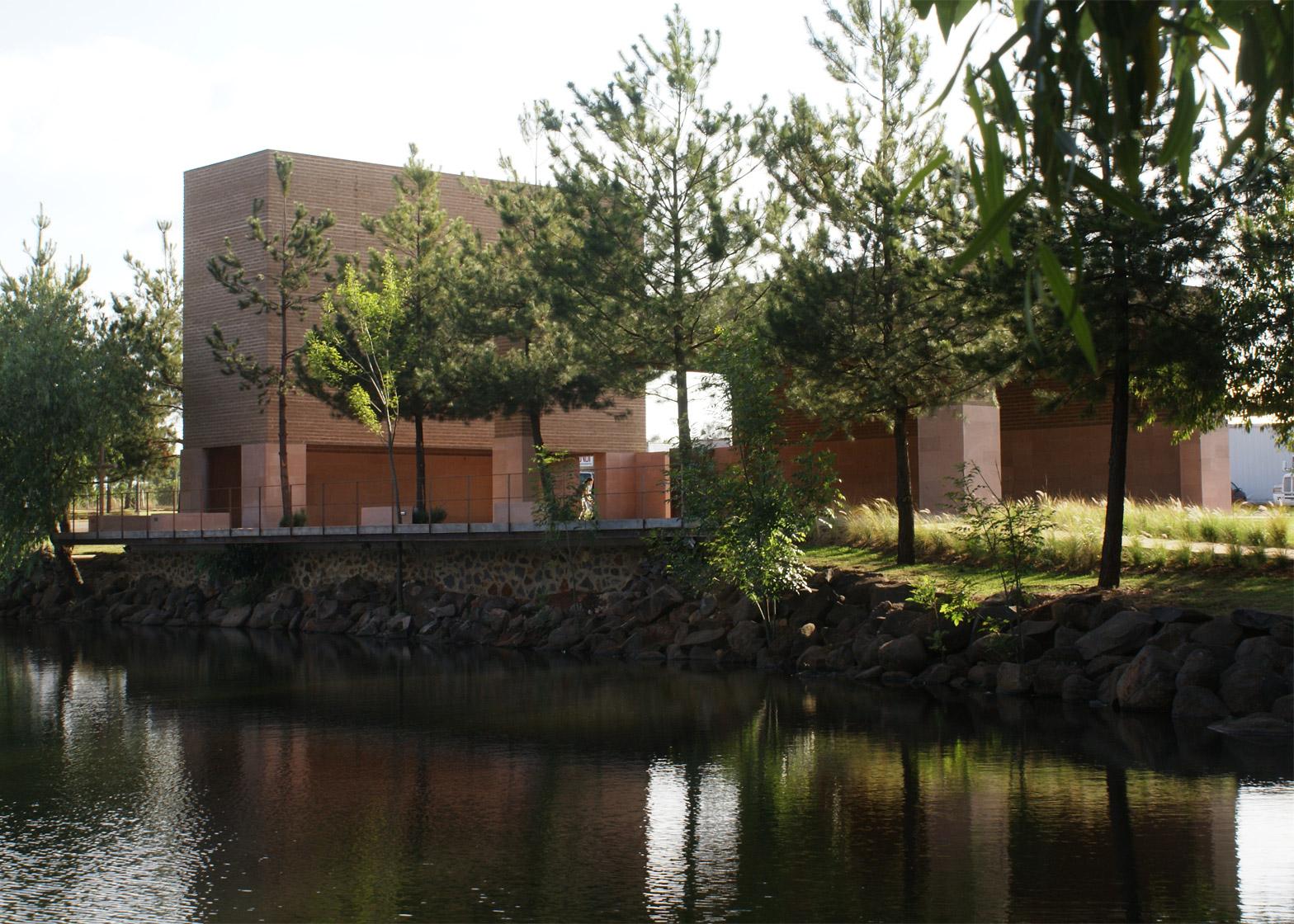 Estudio Ala Completes Terracotta Chapel At A Tequila Factory photo