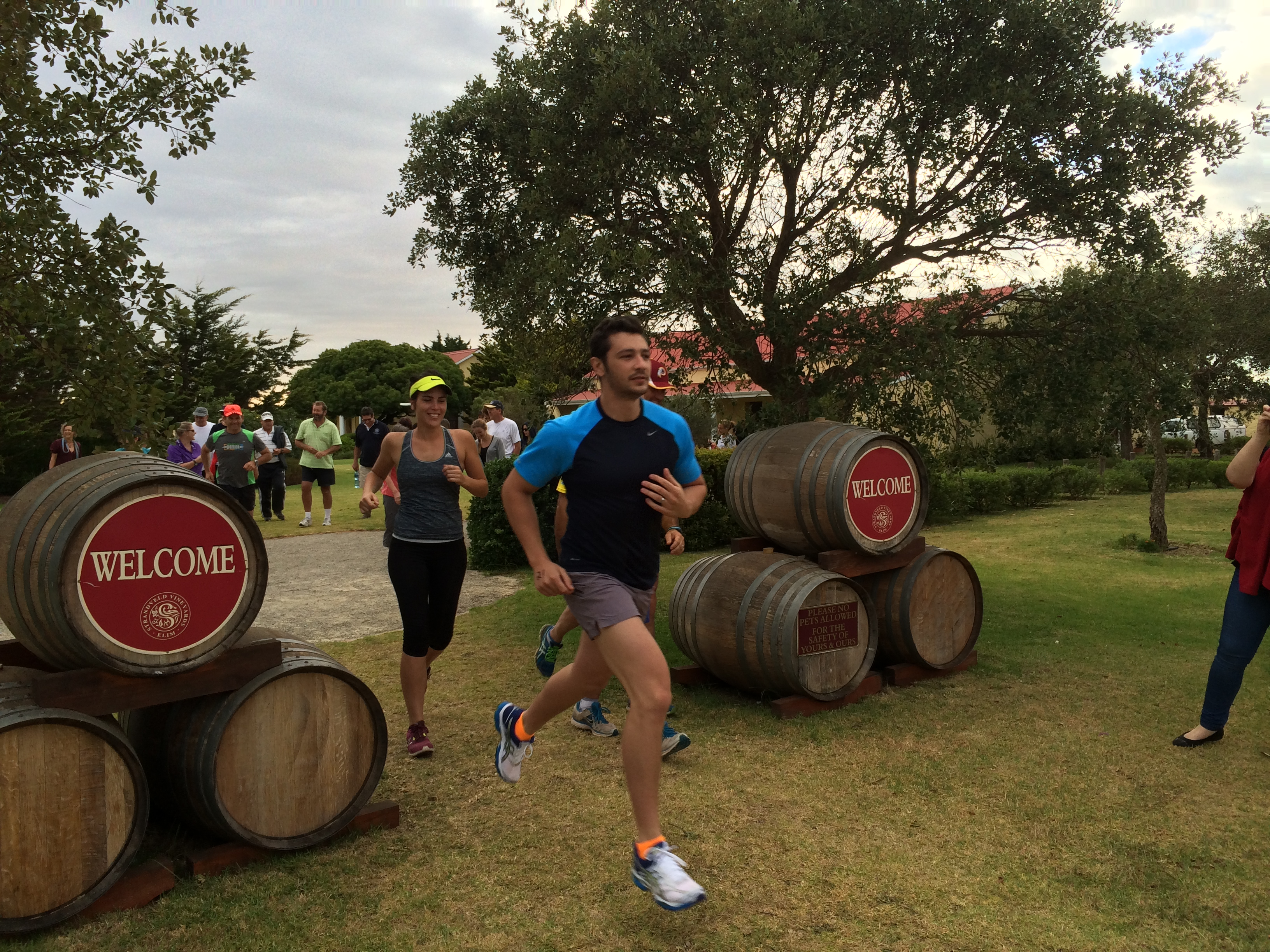 Strandveld Vineyards annual trail run & bubbly breakfast photo