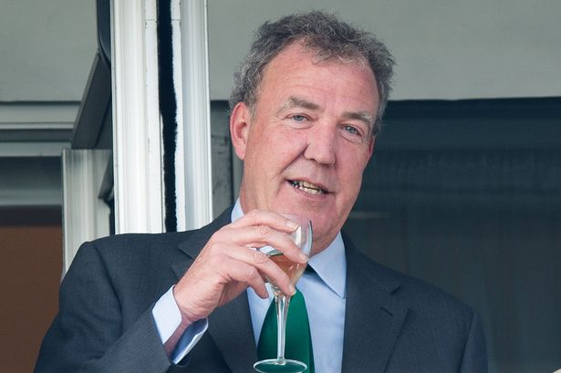 Jeremy Clarkson got so drunk before a live show he had to be given a energy injection photo