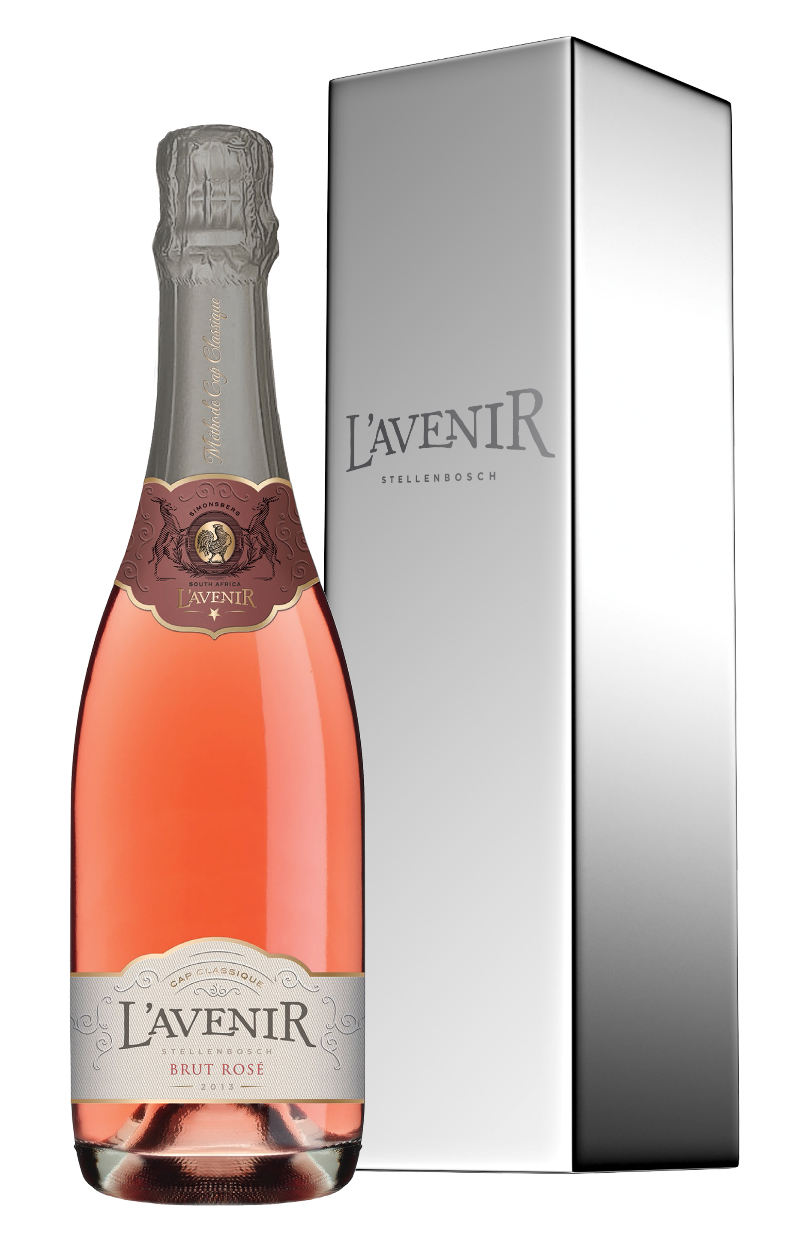 L'AVENIR BRUT ROSÉ 2012 CAP CLASSIQUE – PROUDLY SOUTH AFRICAN WITH A TOUCH OF FRENCH FLAIR photo