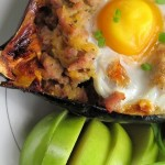 5 Ingredient Breakfast Stuffed Squash photo