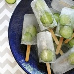 Cucumber Gin and Tonic Popsicles photo