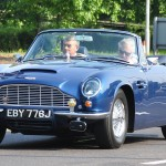 The car of Prince Charles runs on wine photo