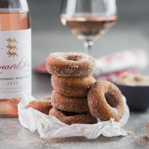 Indulge in a decadent festive-inspired doughnut and wine pairing at Leopard`s Leap photo