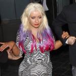 Christina Aguilera was a drunken mess at Seth MacFarlane`s Christmas bash photo
