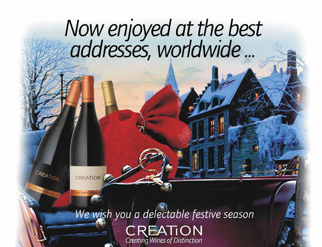 Another proud year for Creation Wines photo