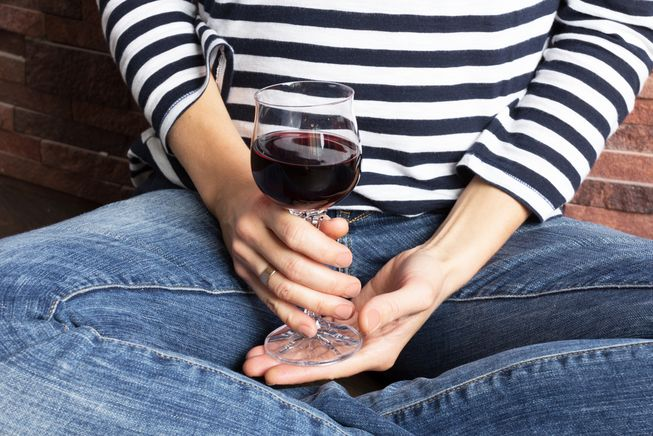 What a glass of wine a day does to your body photo