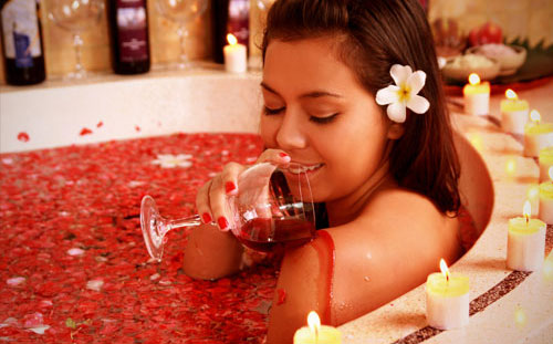 Japan Is Going Crazy for French Wine Baths photo