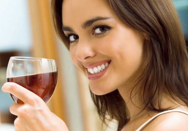 The Easiest Way to Prevent Red Wine-Stained Teeth photo