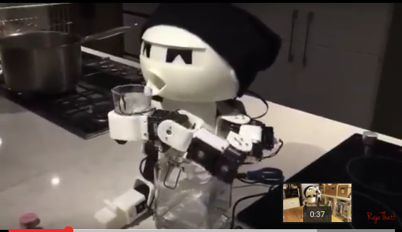 Watch: Drinking Buddy Robot photo