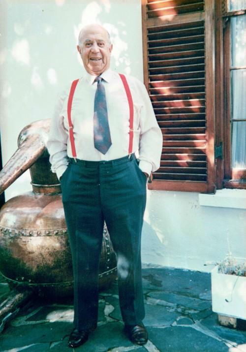 Remembering Sydney Back and the Natural Splendours of Backsberg Estate Cellars photo