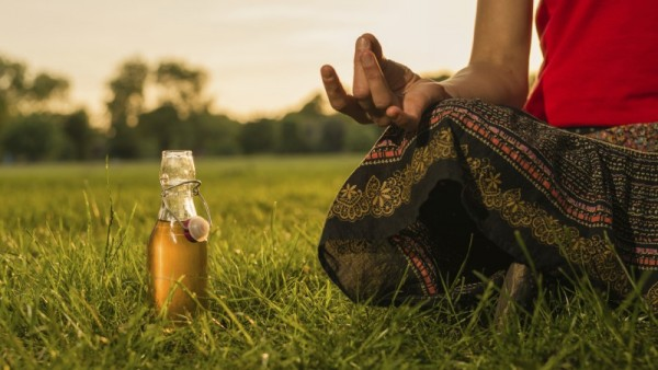 How to Drink Beer and Do Yoga at the Same Time photo