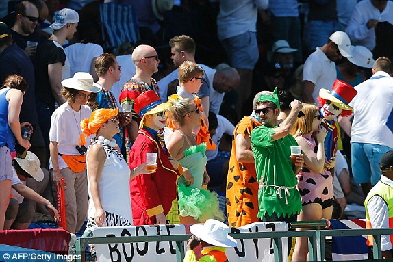 Cricket fans spent millions on beer at Newlands photo